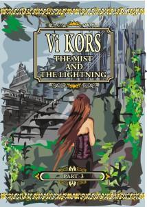 The Mist and Lightning. Part 3. Обложка английская. Художник Оленчинкова Татьяна